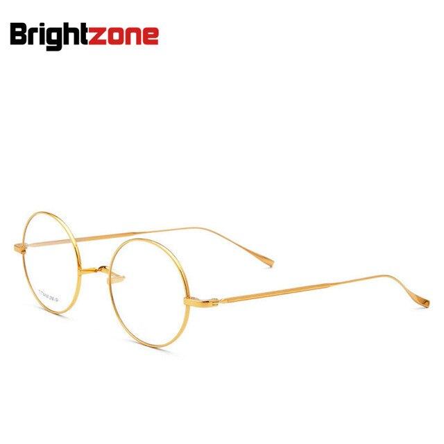4f6c7bd3e1b Brightzone Vintage Series Premium Collection Superb Quality Pure  IP-Titanium Spectacle Glasses Frame Eyeglasses Oculos