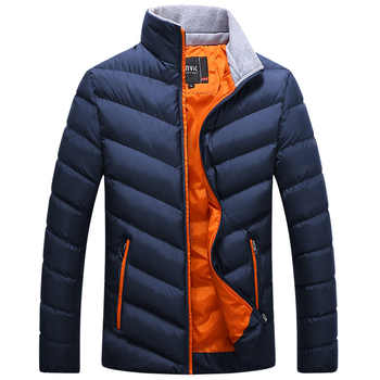 Winter Jacket Parkas Men Jackets 2020 Casual Hooded Coats Men Outerwear Thick Cotton Quilted Jacket Male Brand Clothing