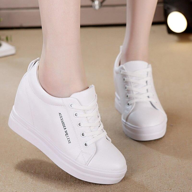 822a5853 Модная обувь из искусственной кожи; женские кроссовки на платформе; женская  летняя повседневная обувь на