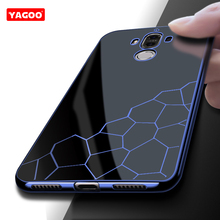 Phone cases for huawei mate 9 luxury silicon TPU 360 armor shockproof shell fashion water cube design for huawei mate 9 Yagoo(China)