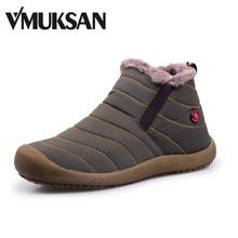 Furry vmuksan пинетки botas лодыжки водонепроницаемые ботинки легкий резиновые снег сапоги
