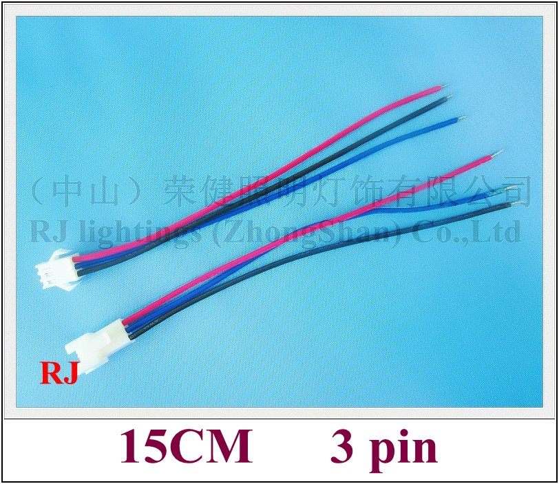 Aliexpress Buy General 3 Pin Wire Cable Connector