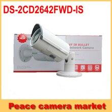 Hikvision Ip-камера 2.8-12 мм Антивандальный Пуля ИК Камера 4 Мегапиксельная ONVIF SD слот для карт и аудио OEM DS-2CD2642FWD-IS