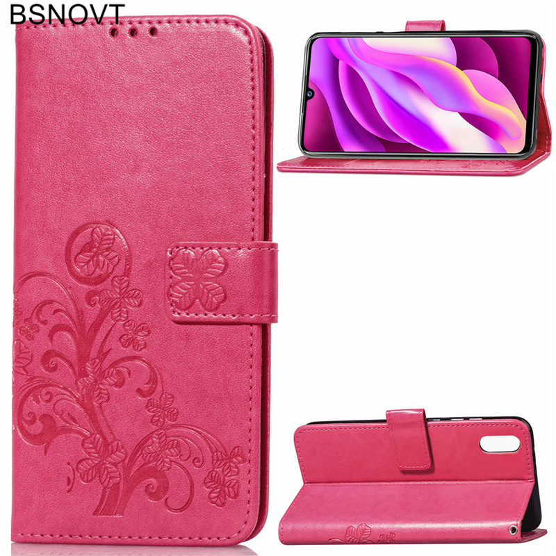 For Vivo Y97 Case Soft Silicone Leather Wallet Dirt-resistant Phone Case For Vivo Y97 Cover For Vivo Y97 Phone Bag Case BSNOVT
