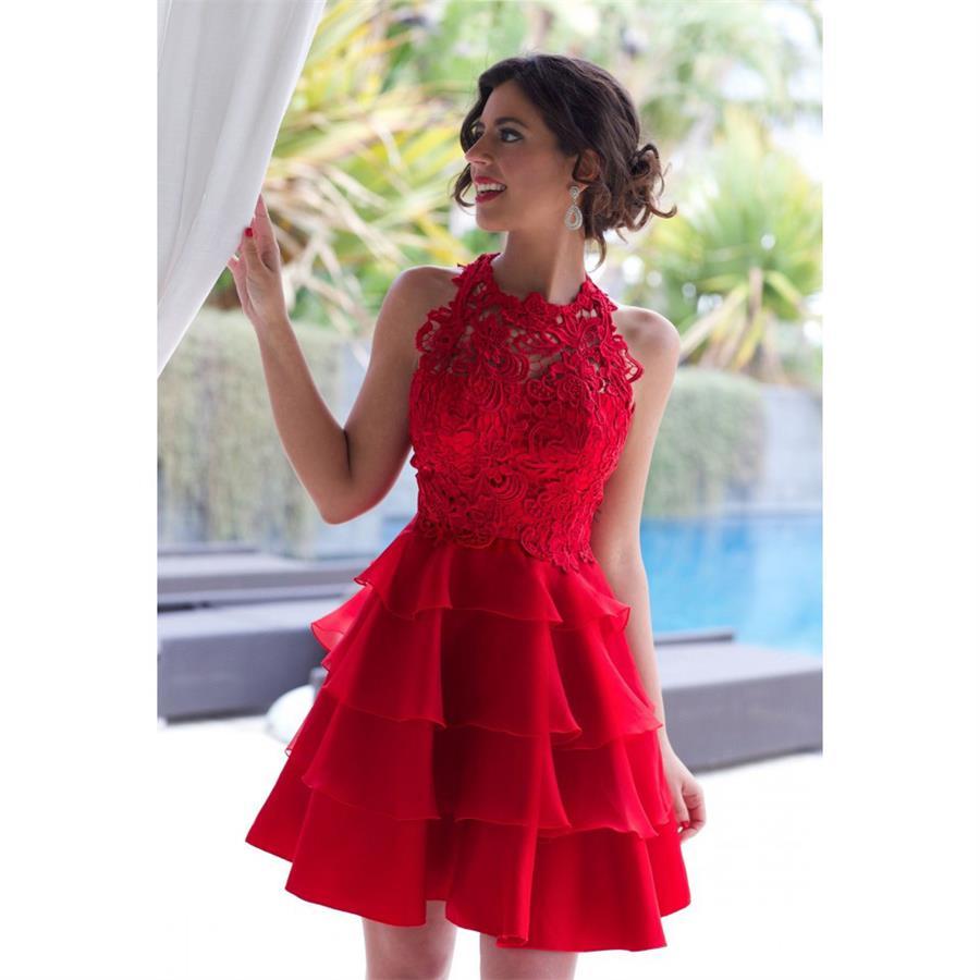 Online Get Cheap Red Semi Formal Dresses -Aliexpress.com - Alibaba ...