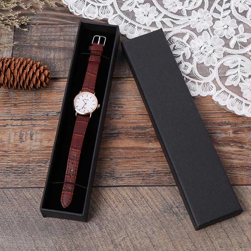Купить с кэшбэком 5 Pack Jewelry Organizer Storage Gift Box Necklace Earrings Ring Bracelet Box Paper Jewellry Packaging Container Sponge Inside