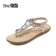 New Fashion Women Sandals Crystal Casual Breathable Comfortable Classic Shoes She ERA
