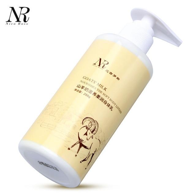 NR Goat Milk Whitening Cream Body Lotion Moisturizing Body Cream Nourish Melanin Chicken Skin Remover Folliculitis Treatment