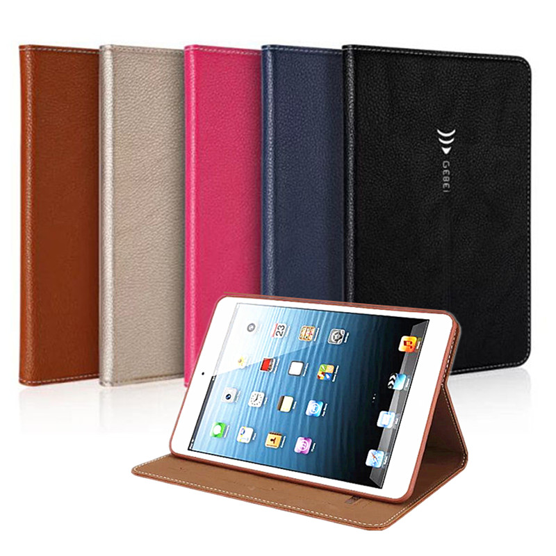 Luxury Stand Leather Case for iPad Mini 4 Flip Book Case Tablet Smart Cover 7.9