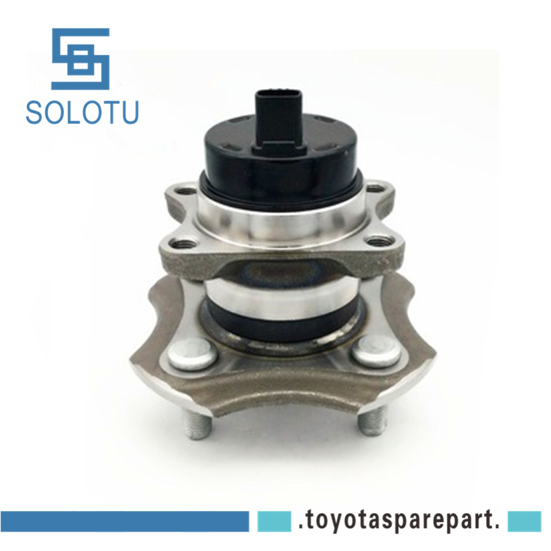 Left and Right - Two Bearings Included with Two Years Warranty Note: AWD RWD 2004 fits Cadillac SRX Rear Wheel Bearing and Hub Assembly