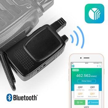 Radioddity AS001 inalámbrico Bluetooth programación adaptador de teléfono inteligente Cable de programación para $TERM impacto Baofeng Walkie Talkie BF-888S BF-777S