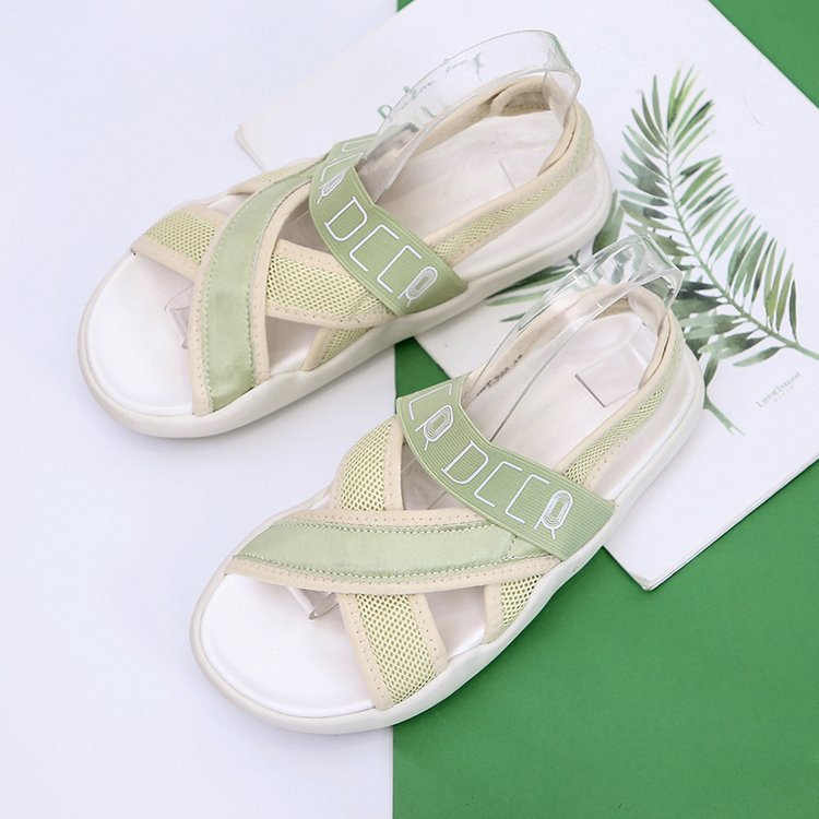 2019 Summer New Sports Sandals Men And Women Big Children Wild Soft Bottom Casual Students Breathable Beach Sandals
