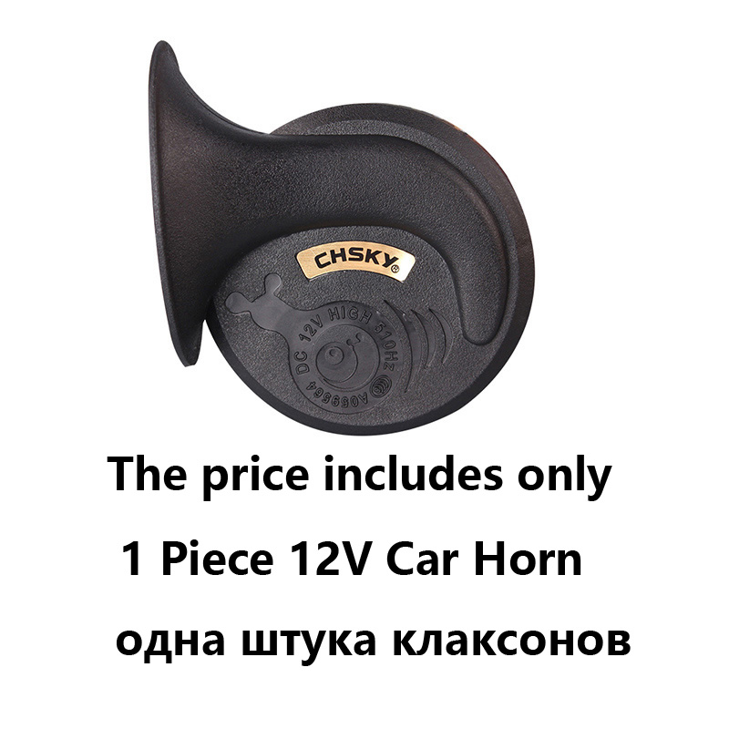 Image 5 - CHSKY loud car klaxon horn 12V car styling parts for vespa loudnes 110db waterproof dustproof Teflon coating technology car horn-in Multi-tone & Claxon Horns from Automobiles & Motorcycles