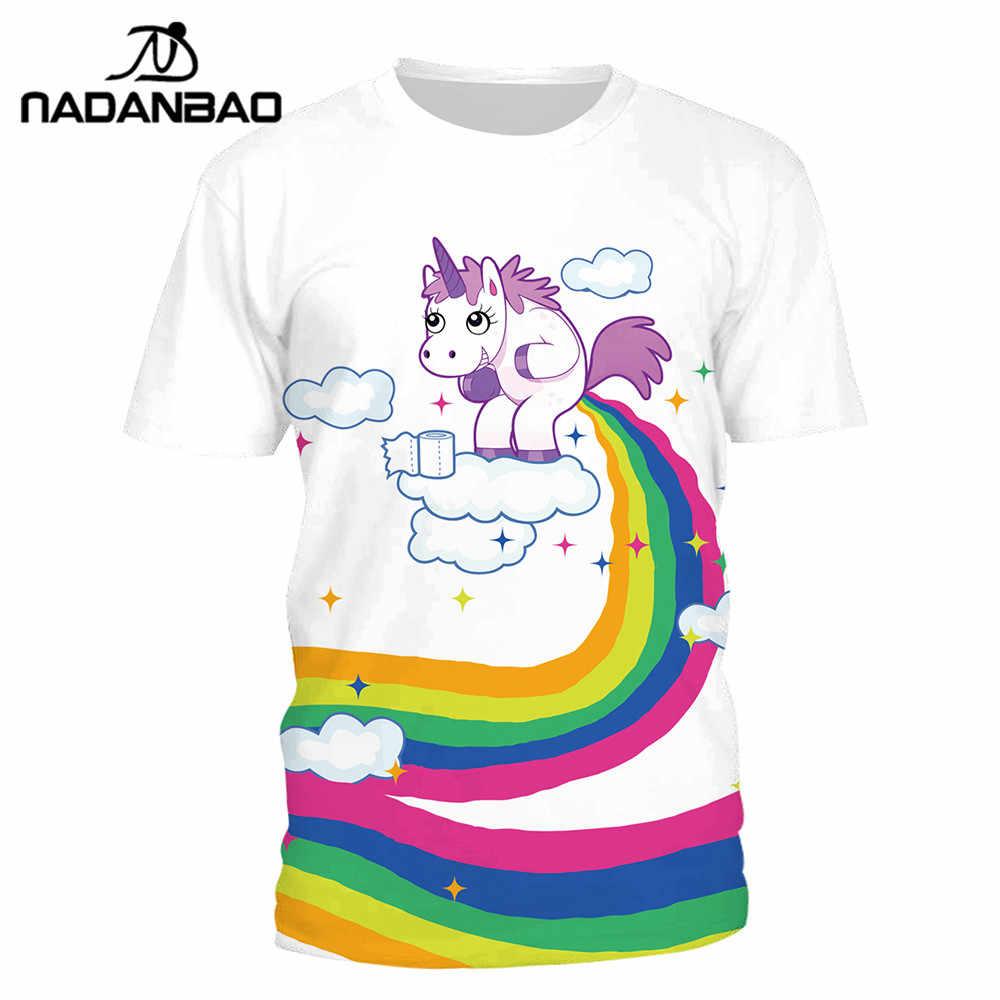 916e5c13 Detail Feedback Questions about NADANBAO Summer T Shirt Women Unicorn Cloud 3D  Printing Rainbow Tshirt Hiphop Kawaii T Shirt on Aliexpress.com | alibaba  ...