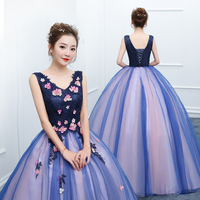 Vestido De 15 anos Quinceanera Dresses Debutante dress Applique Ball Gown Wedding Ball Gown Sweet Lace Flower Party Gowns