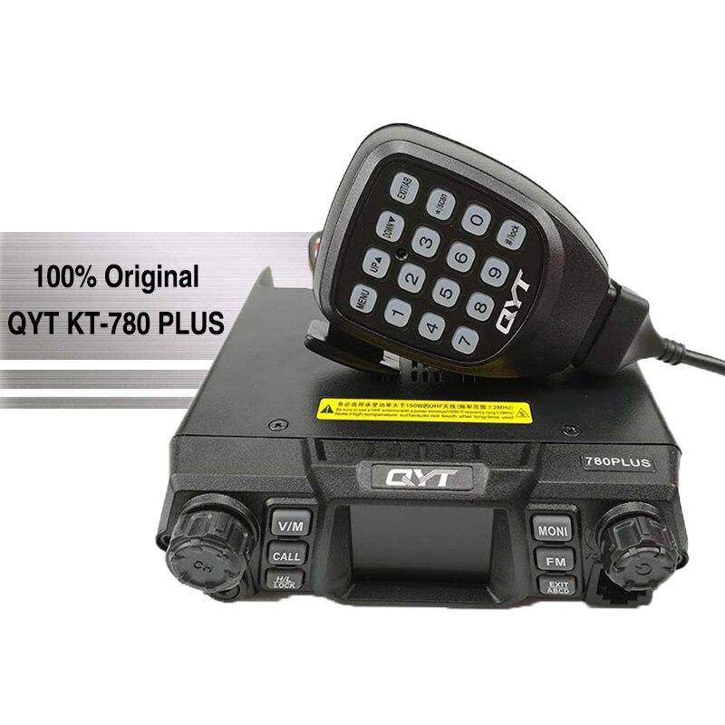 QYT KT 780 плюс высокая Мощность 100 Вт автомобиля портативной Takie мобильный радиотелефон УКВ базовые CB радиостанции повторителя трансивер Poste ра