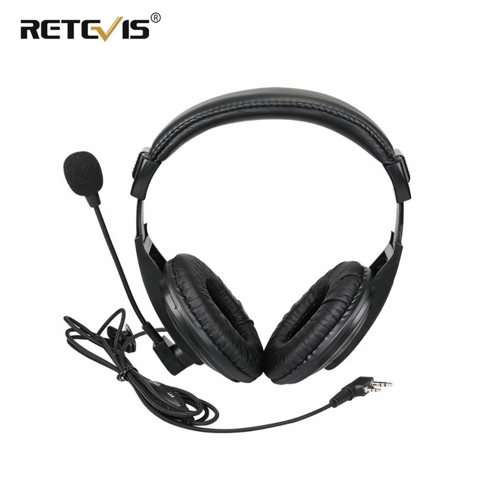 Flexible Retevis R-114 PTT MIC Earpiece Walkie Talkie Headset For Kenwood For Baofeng UV-5R Bf-888S For Retevis H777 RT5R RT22
