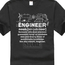 Engineer T Shirt Funny Slogan Joke Sarcastic Birthday Gift PresentChina