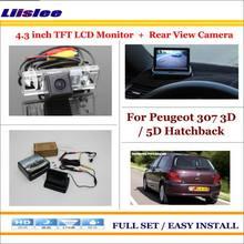 Автомобильная камера для peugeot 307 3d 5d хэтчбек автомобиля