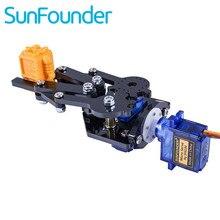 SunFounder Kit de pinza estándar, pata para brazo robótico, Rollarm, Robot DIY para Arduino Uno Mega 2560 Nano