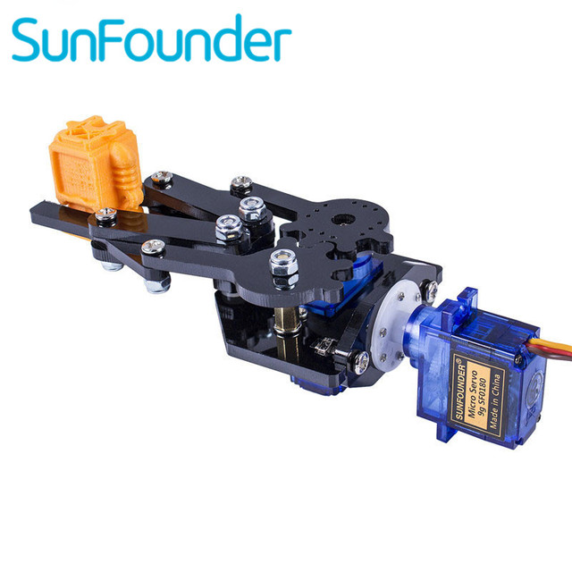 US $17 59 12% OFF|Aliexpress com : Buy SunFounder Standard Gripper Kit Paw  for Robotic Arm Rollarm DIY Robot for Arduino Uno Mega 2560 Nano from