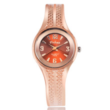 2016 New hot sell Fashion women quartz watches rose gold ladies Bangle Watch popular designer wrist watches relogio feminino