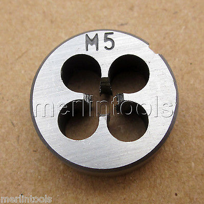 5mm x .8 Metric Left hand Die M5 x 0.8mm Pitch