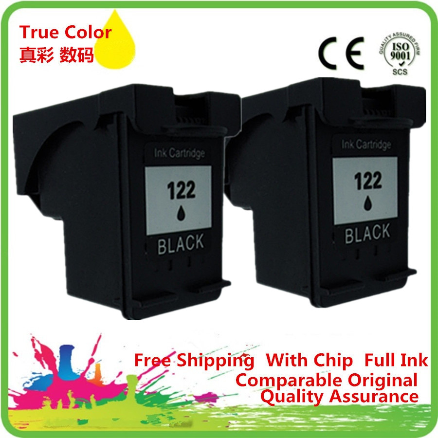 Ink Cartridges Remanufactured For 122 XL HP122 <font><b>HP122XL</b></font> 122XL Deskjet F4272 F4275 F4280 F4283 F4288 F4500 F4580 F4583 image