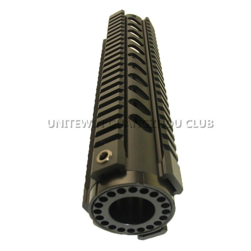 AR-15 M4 10,12, 15 pouces chasse tactique Handguard carabine RIS Quad Rail Drop-In Rail Picatinny montage pour fusil à Air comprimé