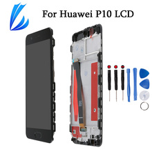 No Dead Pixel LCD Display For Huawei P10 Screen Replacement Part Touch P10 Phone LCD Pantalla Digitizer Assembly+Tools