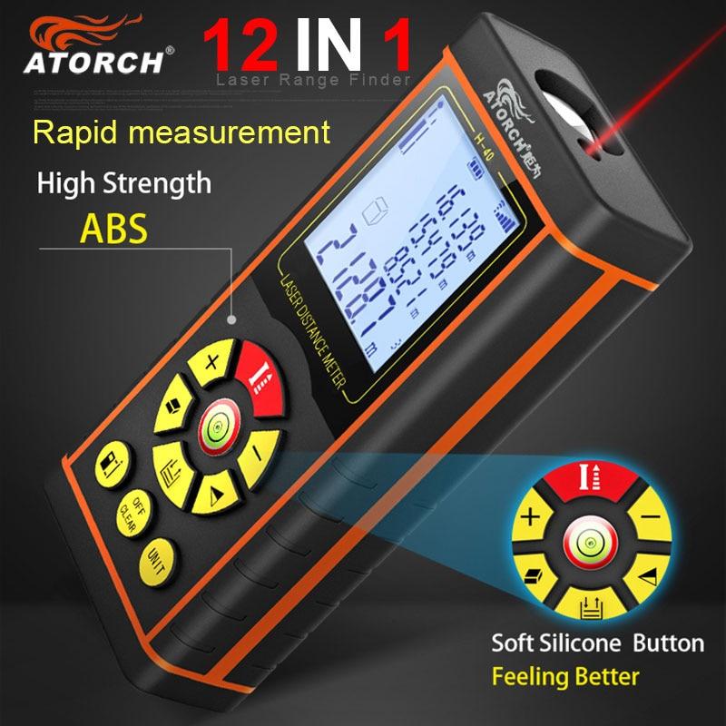 ATORCH 60M digitális lézer távolságmérő távolságmérő - Mérőműszerek - Fénykép 2