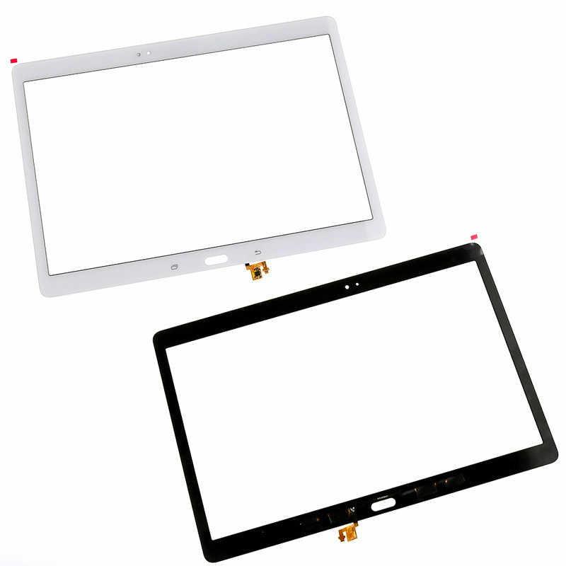 Biały/B z ekranem dotykowym panelem dotykowym szkło Digitizer dla Samsung Galaxy Tab S T800 T805 SM-T800 SM-T805
