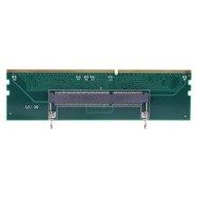 Ноутбук памяти на рабочий стол Разъем для карты памяти адаптер карты 240 до 204 P SO-DIMM до DIMM адаптер памяти аксессуары для компьютера
