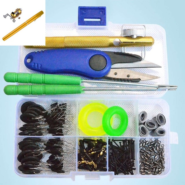 Lightweight Portable Fishing Tackle Set Fishing Gear Accessories Set Fishing Accessories Kit for Fishing Lovers