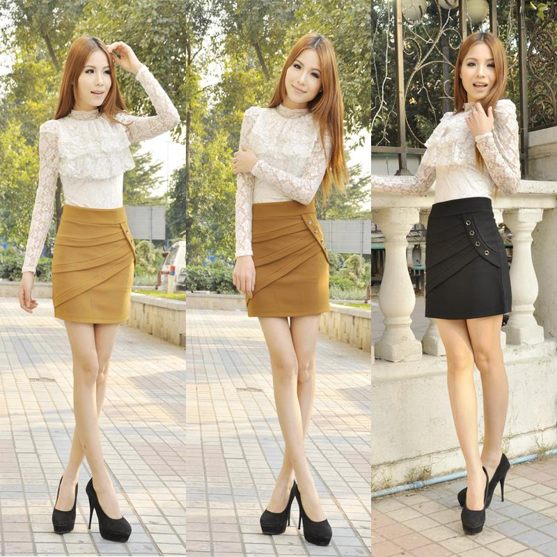 Black Mini Pencil Skirt Outfits - Dress Ala