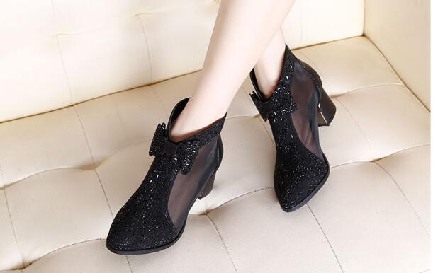 Out Chaussures Net Parti Bottes Printemps Femmes As Sandales Automne Simples as En Cuir Bureau Court Arc Diamant 1 2 Pic Ms A1wxd78q7