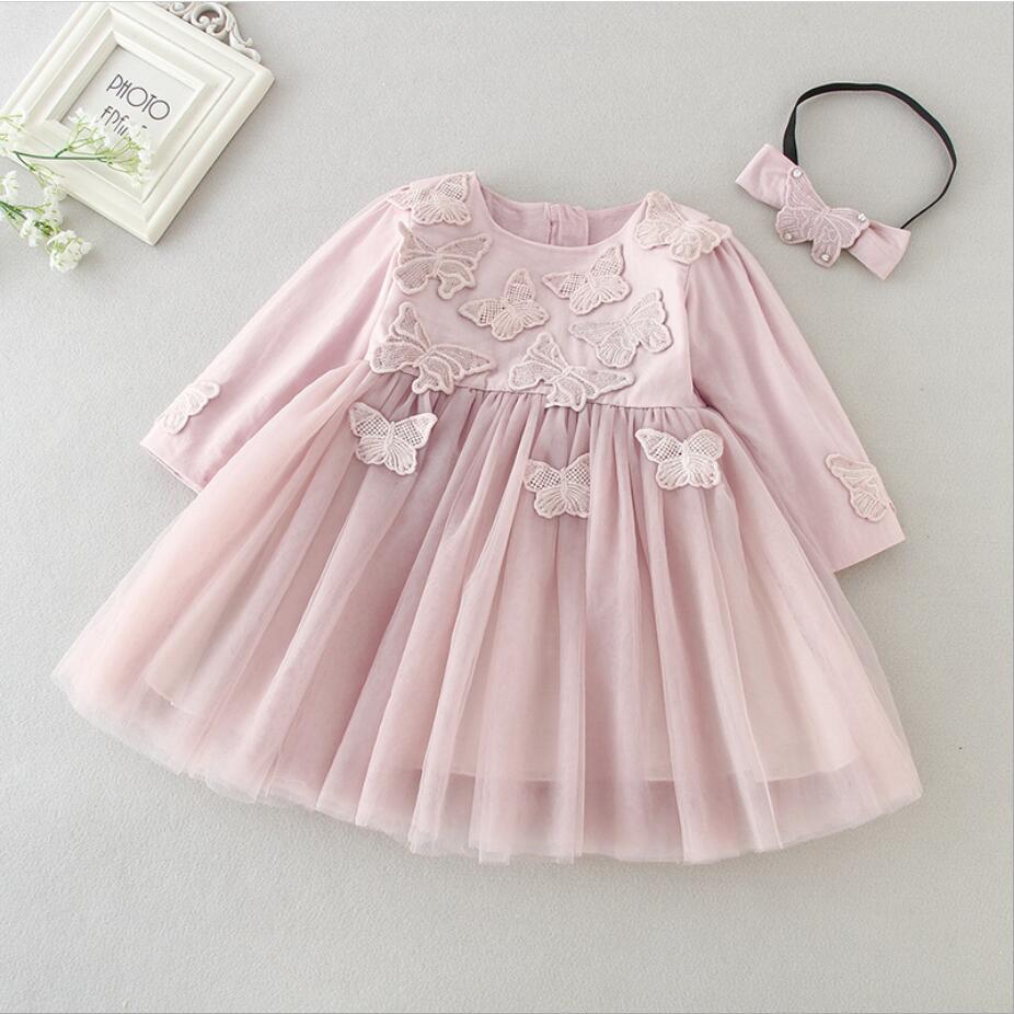 9788e21f98 1PC Peach White Sleeveless Baby Girl Baptism Christening Easter Gown ...