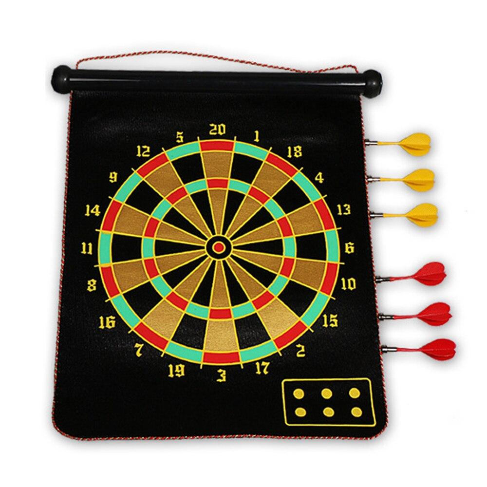 Mágneses darts Dardos 15 hüvelykes Roll-up puha darts tábla - Kemping és túrázás