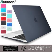 "Crystal Clear mat Hard Case kapak Macbook Pro 13.3 15 16 2020 A2251 A2289 Pro Retina 12 13 15 ""Hava 11 13 2020 A2179 A1932"