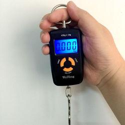 Электронные весы с крючком, 45 кг