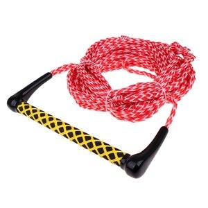 Image 4 - Cuerdas de esquí de agua Premium de alta resistencia con mango flotante 1 sección 72ft agarre suave herramientas prácticas duraderas al aire libre