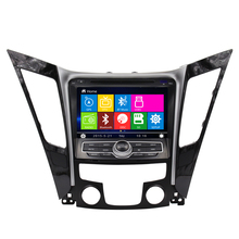 Best stable car gps navigation dvd player for Hyundai 2012 sonata steering-wheel control bluetooth can bus support rearcamera