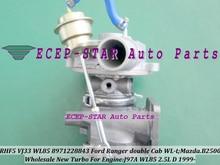 RHF5 VJ33 WL85 8971228843 VC430090 Turbo Turbine Turbocharger For FORD Ranger Double Cab WL-T For MAZDA B2500 J97A 2.5L D 109HP