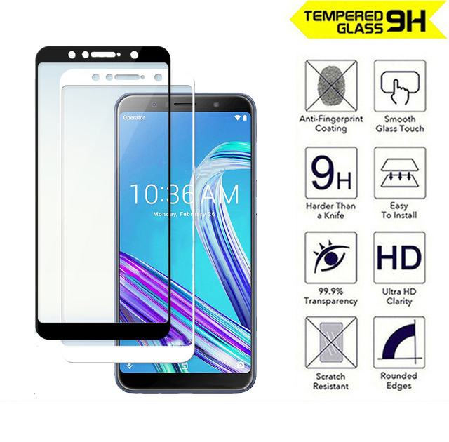 tempered glass for asus zenfone max pro m1 zb602kl zb555kl max pro m2 zb633kl zb631kl live l1