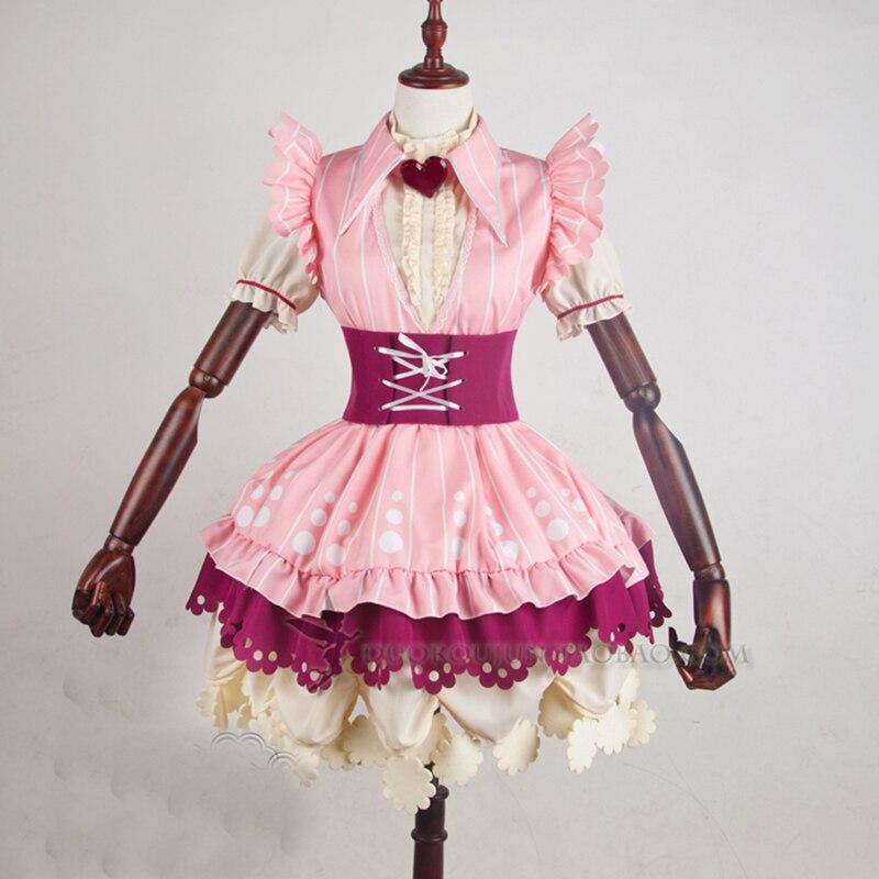 Anime Cosplay de Lovelive Yazawa Nico Traje Lolita Trajes de Disfraces de Halloween Maid Set Vestido