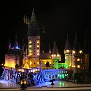 Image 2 - Led ışık seti uyumlu Lego 71043 Harry film 16060 yaratıcı Hogwarts kale yapı taşları tuğla oyuncaklar (sadece led ışık s)