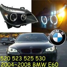 Автомобильный бампер светильник E60 головной светильник, 520 523 525 530,2004 2005 2006 2007 2008 год, автомобильные аксессуары, передняя фара E60 противотуманный светильник; E 60
