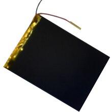 9 10 дюймов большой емкости 3,7 в планшет Аккумулятор 6000 мАч каждый бренд планшет универсальный перезаряжаемый литиевый аккумулятор 3595130