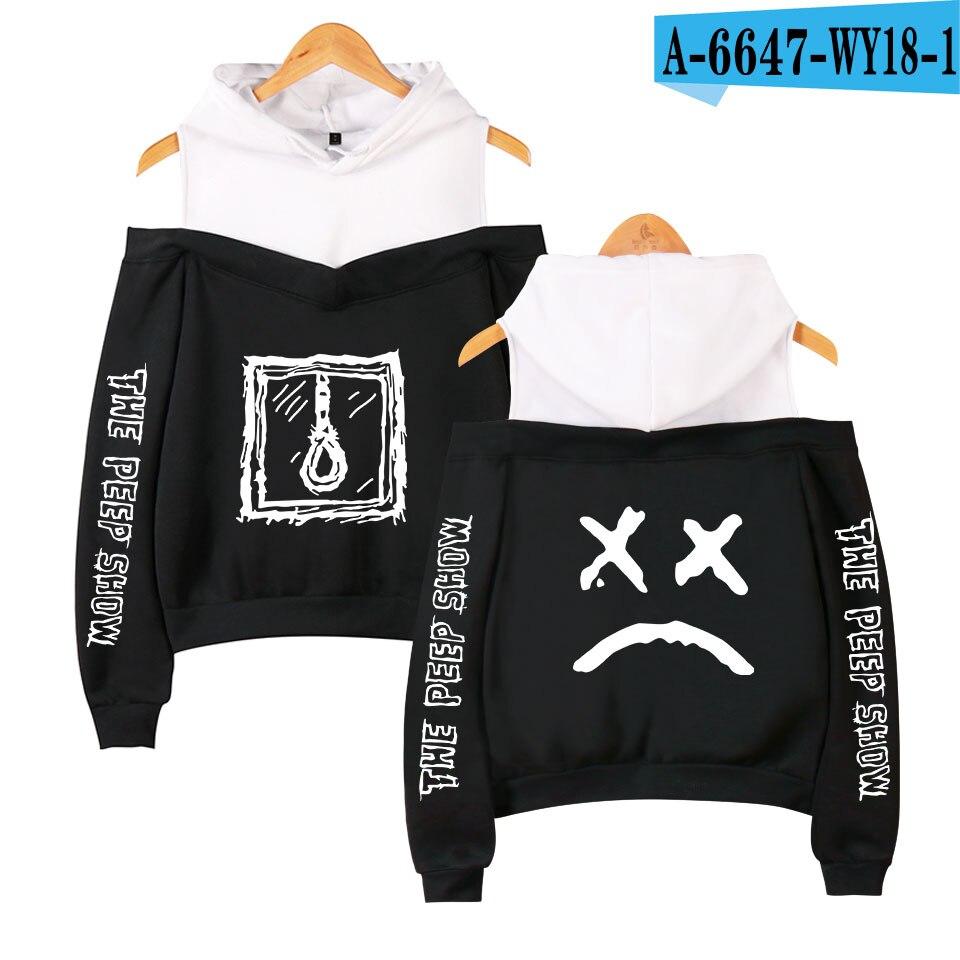 Lil Peep Show In Berlin Hip Hop Hoodies Sweatshirt Vrouwen Emo Rapper Cry Baby Gedrukt Plus Maten Voor Casual Fleece Sweatshirt in Hoodies amp Sweatshirts from Men 39 s Clothing