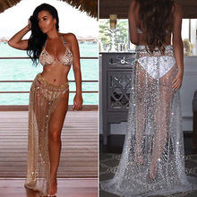 b5b8c92227 Buy beach dress with glitter and get free shipping on AliExpress.com